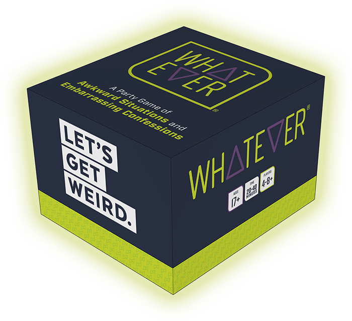 Whatever Party Game box